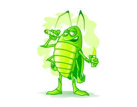 #60 pentru Roach Cartoon Character for a new website - 20/01/2021 20:06 EST de către peshan