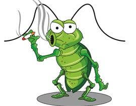 #59 pentru Roach Cartoon Character for a new website - 20/01/2021 20:06 EST de către utteeya100