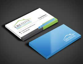 #87 untuk Design some Business Cards for Creative Property Consultants oleh angelacini