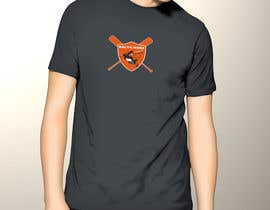#16 for Baltimore Orioles Custom T-shirt design by zack966