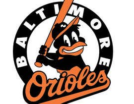 #15 for Baltimore Orioles Custom T-shirt design by tjayart