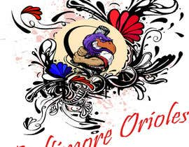 #3 for Baltimore Orioles Custom T-shirt design by batoty