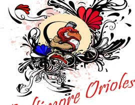 #5 for Baltimore Orioles Custom T-shirt design by batoty