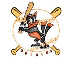 nº 2 pour Baltimore Orioles Custom T-shirt design par jacobrenophoto