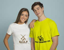 #7 cho Website/Hat/T-shirt logo is needed. The Company is called Gulf Country Co. I have a tag line that I'd like added also which is: Hunting & Fishing. This is an Australian Company. It's a new company that will sell apparel. Including hats. Shirts bởi mahabubargm