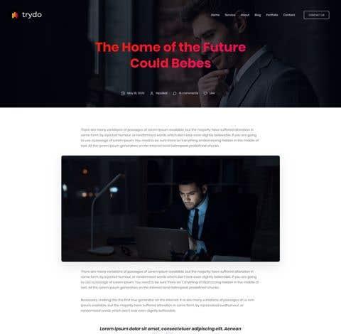Penyertaan Peraduan #                                        7                                      untuk                                         Customise EasyBlog Template Like main webiste
