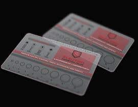 #136 untuk Transparent business card design oleh janithdias