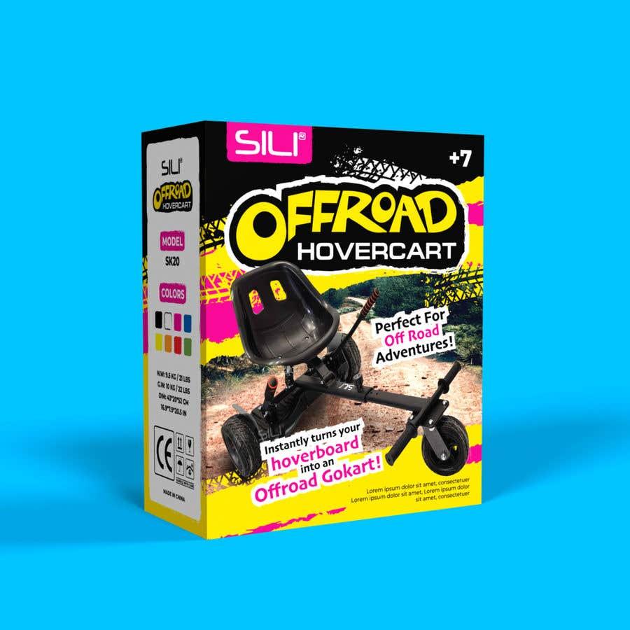 Kilpailutyö #                                        35                                      kilpailussa                                         Packaging Design - Colour Outer Box for Kids Toy (Hoverkart)