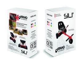 Nro 16 kilpailuun Packaging Design - Colour Outer Box for Kids Toy (Hoverkart) käyttäjältä allifahr