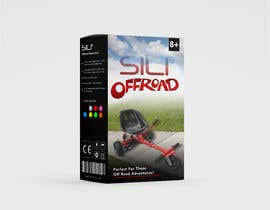 Nro 30 kilpailuun Packaging Design - Colour Outer Box for Kids Toy (Hoverkart) käyttäjältä talhabalk