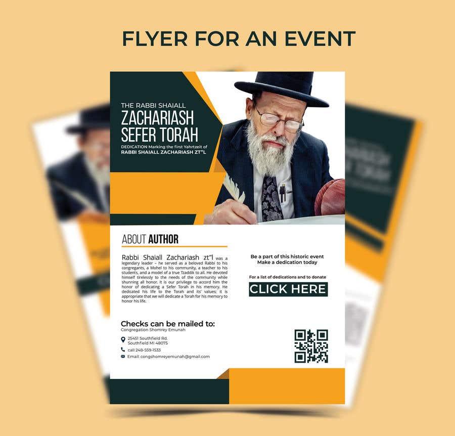 Proposition n°                                        150                                      du concours                                         Design a Flyer for an Event (Sefer Torah)