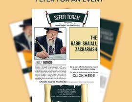 nº 152 pour Design a Flyer for an Event (Sefer Torah) par imranislamanik