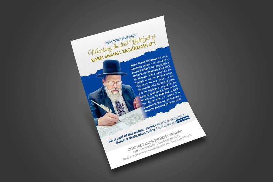 Proposition n°                                        156                                      du concours                                         Design a Flyer for an Event (Sefer Torah)