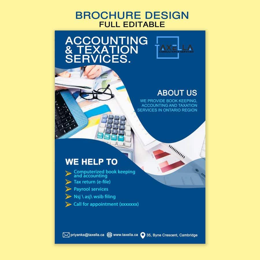 Kilpailutyö #                                        19                                      kilpailussa                                         Brochure Design for Business Firm.