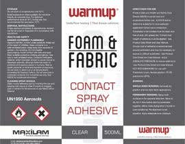#6 untuk Design an attention grabbing label for aerosol oleh creazinedesign
