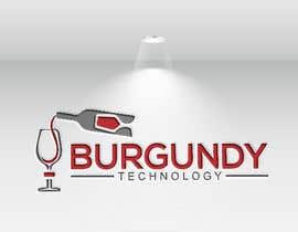 #164 pentru Burgundy Technology Logo Creation de către kulsumab400