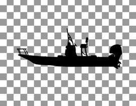 Nro 6 kilpailuun boat silhouette käyttäjältä rizalmulyana7