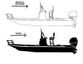 Nro 17 kilpailuun boat silhouette käyttäjältä donecaedward