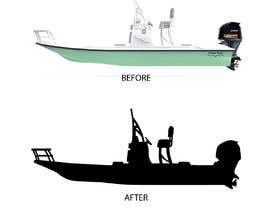 Nro 3 kilpailuun boat silhouette käyttäjältä rockztah89