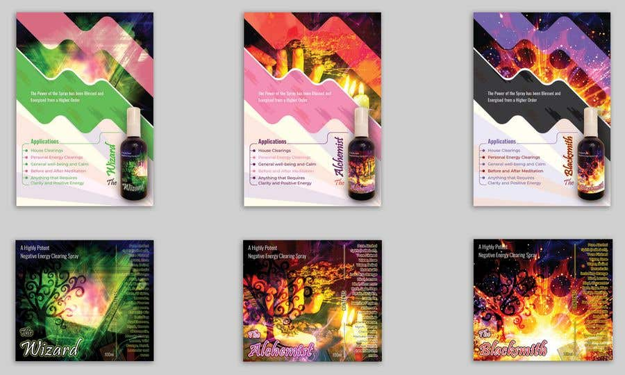 Bài tham dự cuộc thi #                                        132                                      cho                                         Alchemy Spray Mist Labels and Flyer