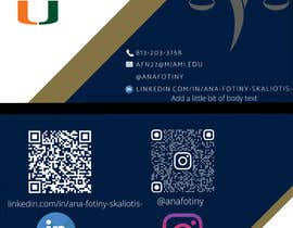 #75 for Ana Fotiny Business Cards by tayyabjaved914