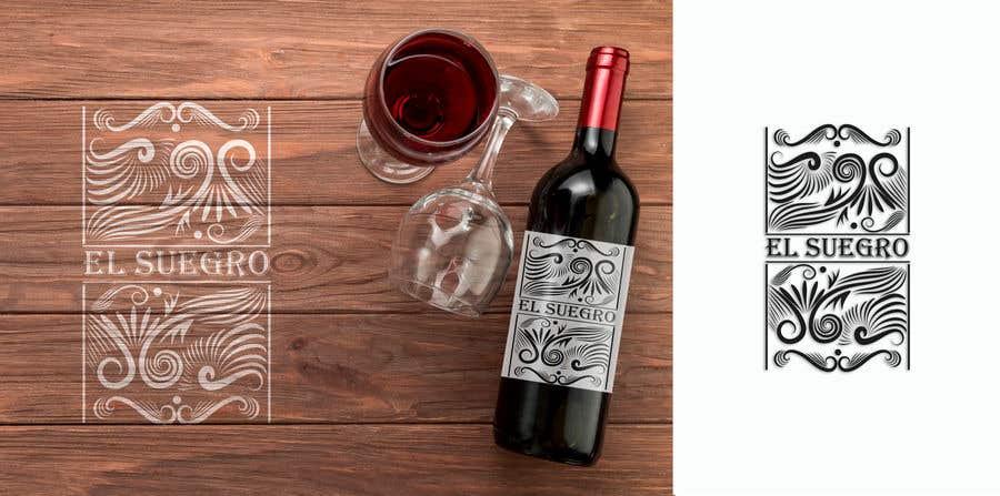 Kilpailutyö #                                        107                                      kilpailussa                                         Design logo + display on bottle
