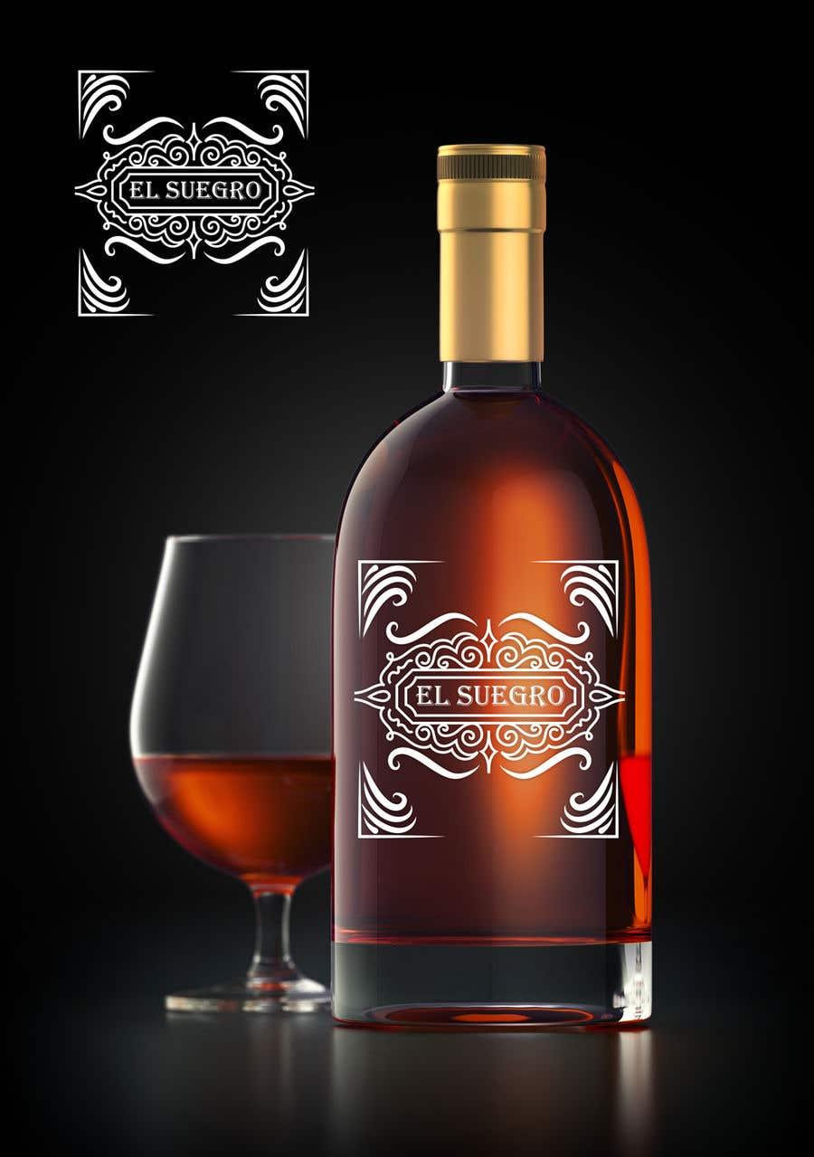 Kilpailutyö #                                        110                                      kilpailussa                                         Design logo + display on bottle