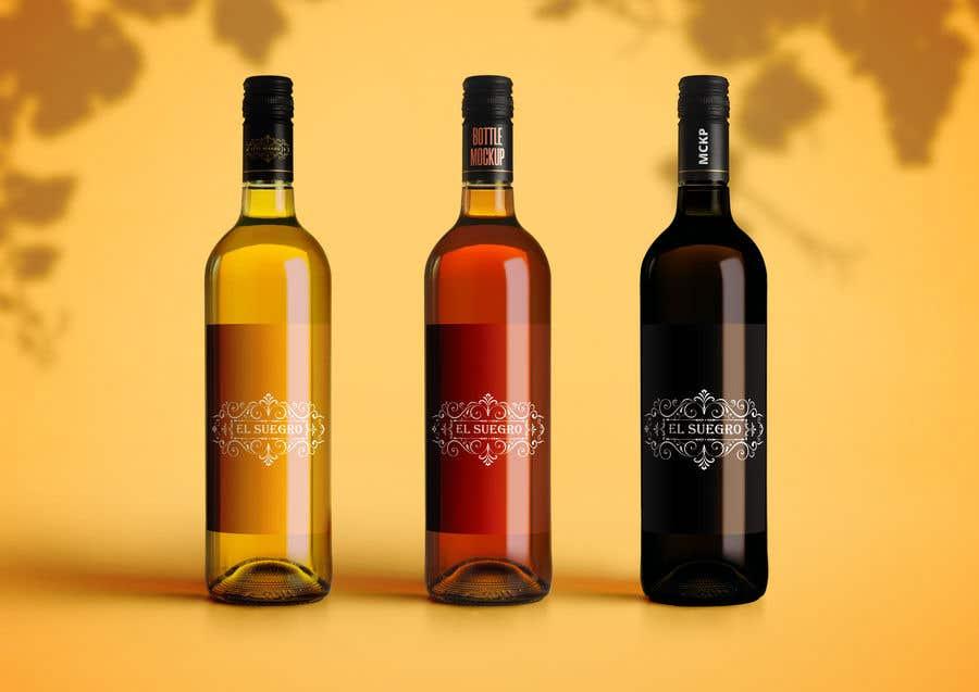 Kilpailutyö #                                        115                                      kilpailussa                                         Design logo + display on bottle