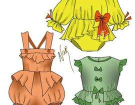 #19 for Design for newborn clothes by NURKE