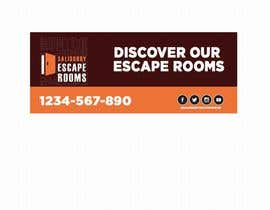 #41 for escape room signage by AbodySamy
