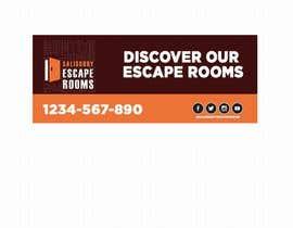 Nro 41 kilpailuun escape room signage käyttäjältä AbodySamy