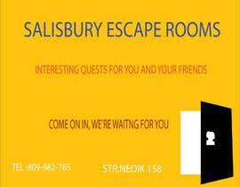 Nro 9 kilpailuun escape room signage käyttäjältä Selinabegum200