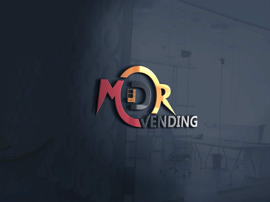 Kilpailutyö #                                        23                                      kilpailussa                                         Logo For my Vending Business