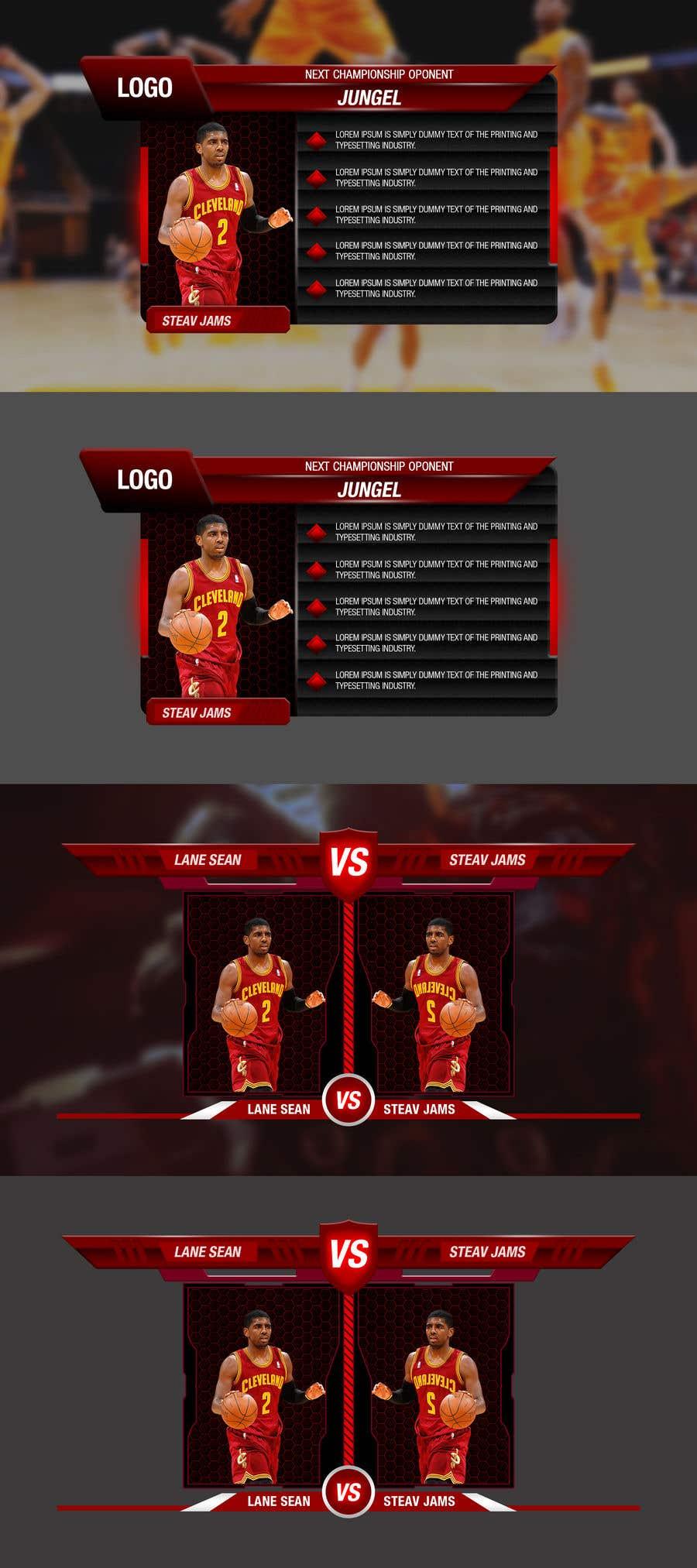 Kilpailutyö #                                        10                                      kilpailussa                                         5 Sport Element Graphics Needed