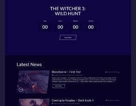 #47 untuk Design a modern home page oleh freelancerasraf4