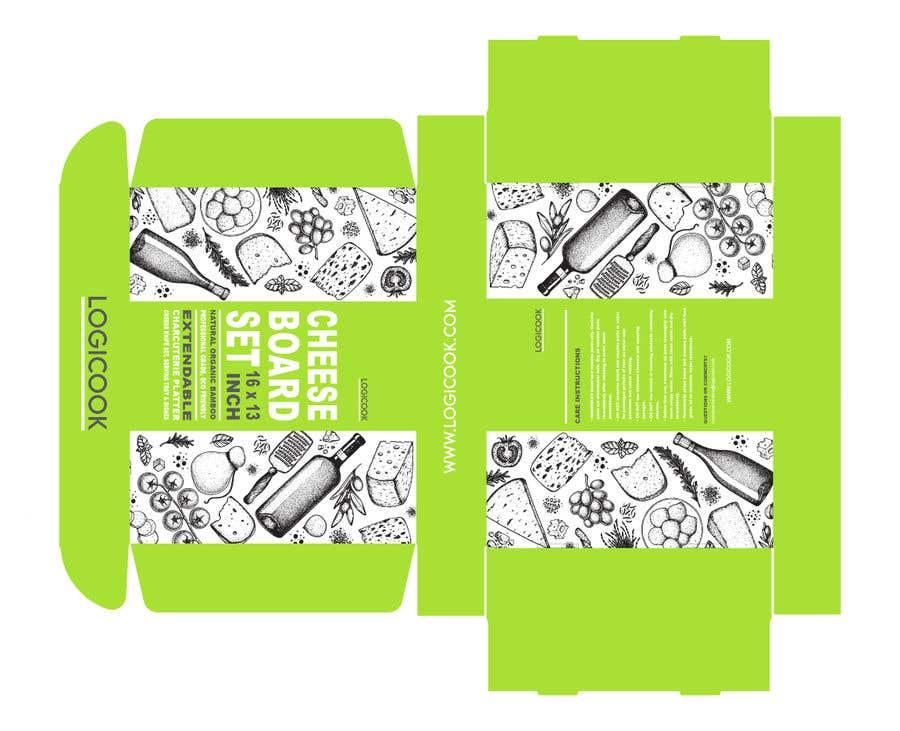 Kilpailutyö #                                        29                                      kilpailussa                                         Create Box Packaging for Kitchen Product
