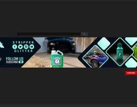 Nro 62 kilpailuun turn my logo into a YouTube banner käyttäjältä MrRaies