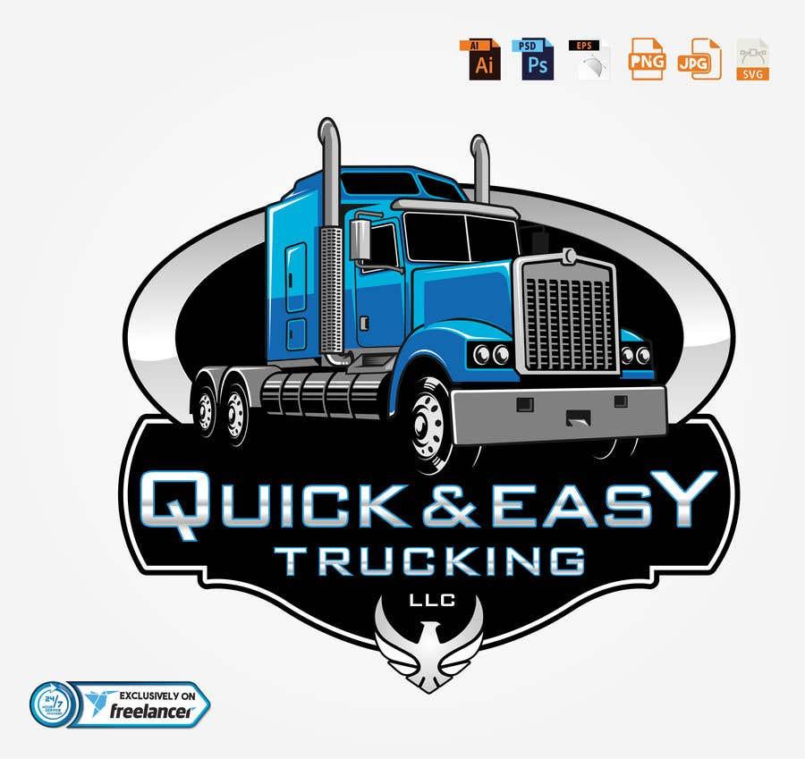 Kilpailutyö #                                        25                                      kilpailussa                                         QUICK & EASY TRUCKING LLC