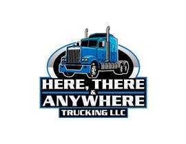 #84 for HERE, THERE & ANYWHERE TRUCKING LLC by CenturionArts