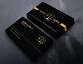 Nro 78 kilpailuun Business Card - Notary Public käyttäjältä dreamacademy43