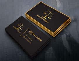 Nro 118 kilpailuun Business Card - Notary Public käyttäjältä winningacademy