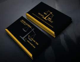 Nro 123 kilpailuun Business Card - Notary Public käyttäjältä tybaislam121