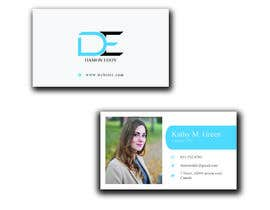Nro 425 kilpailuun Business card design käyttäjältä masteracademy112