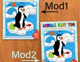 marianayepez tarafından Book Cover - Animal Farting Color By Number Book için no 59