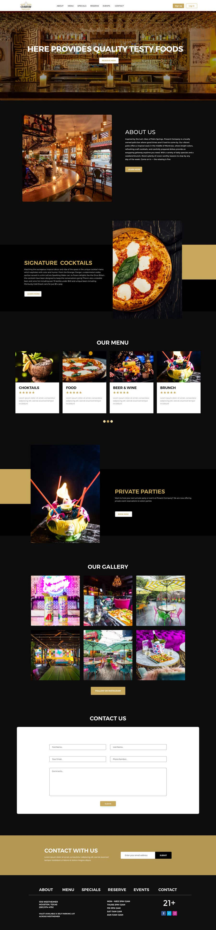 Contest Entry #                                        158                                      for                                         Design FUN Website for Speakeasy Concept