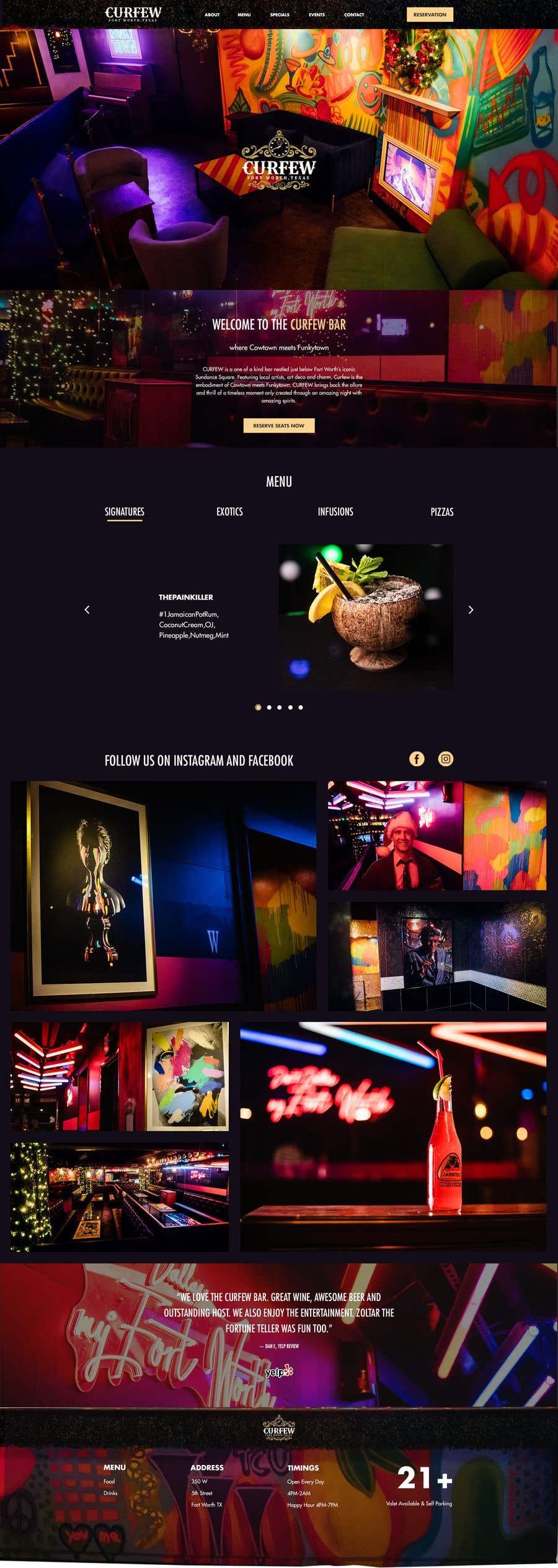 Contest Entry #                                        173                                      for                                         Design FUN Website for Speakeasy Concept