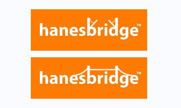 Konkurrenceindlæg #                                        36                                      for                                         Modify a Logo for hanesbridge