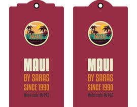 #19 for Ukulele Tag Design - MAUI Hang Tag! af sinhashuvo35