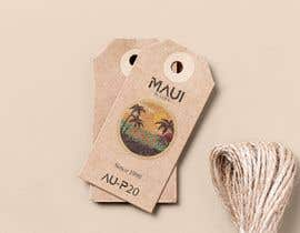 #40 for Ukulele Tag Design - MAUI Hang Tag! af rockyrcb