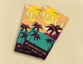#45 for Ukulele Tag Design - MAUI Hang Tag! af jazevw